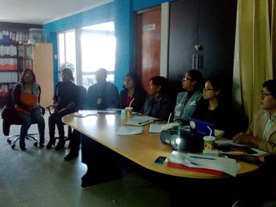 Reunión Técnica con funcionarios del Gobierno Regional de Junín para el Control de la Geohelmintiasis en la Región Junín