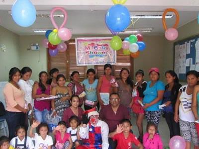 Baby Shower Centro de Salud San Alejandro