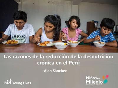 Las razones de la reducción de la desnutrición crónica en el Perú