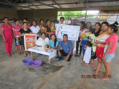 INMED Andes realizó taller de Capacitación en la Comunidad de Monterrico