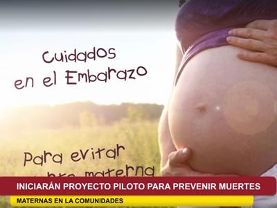 Región Ucayali Iniciarán Proyecto Piloto Para Prevenir Muertes Maternas En Las Comunidades