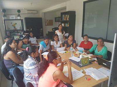 Capacitación al Equipo de Campo en Ucayali