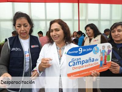 """MINSA: PPK participó de campaña por el """"Día de la Desparasitación"""""""