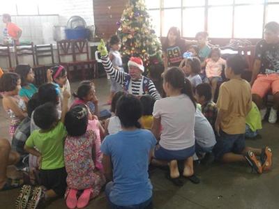 Compartiendo la Navidad en Yarinacocha