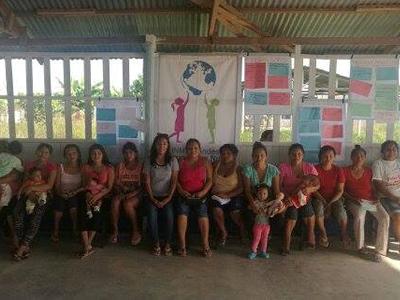 Talleres con la Comunidad de Santa Rosa de Lima km 50; Distrito de Yarinacocha, Coronel Portillo