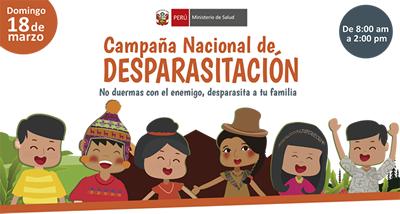 Campaña Nacional de Desparacitación