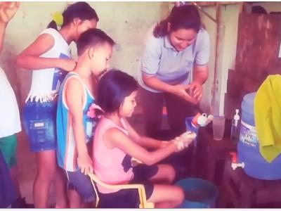 Importancia del Lavado de manos de la Institución Educación Aplicación en el distrito de Yarinacocha